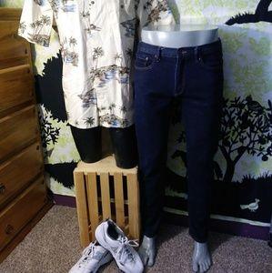 Men's Gap 34/32 Slim Stretch Jeans